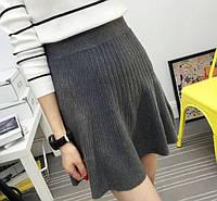 Женская модная юбка-трапеция (3 цвета)