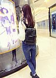 Рюкзак міський чорний, фото 5