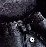 Рюкзак міський чорний, фото 6