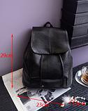 Рюкзак міський чорний, фото 7
