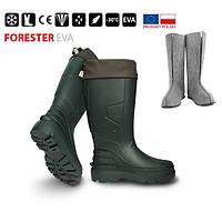 Сапоги FORESTER -30*, зеленые 40р.