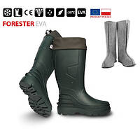 Сапоги FORESTER -30*, зеленые 46р.