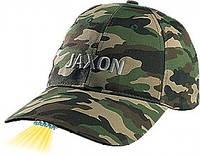 Бейсболка  Jaxon E с фонариком комуфл.