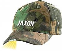 Бейсболка  Jaxon B с фонариком комуфл.
