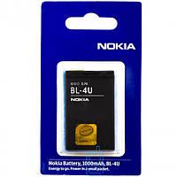 Аккумулятор Nokia BL-4U 1000 mAh 500, 600, 5250 AAA класс