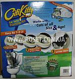 Система приучения кошек к унитазу Citi Kitty Cat Toilet Training Kit, набор для кошек, фото 2