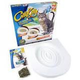 Система приучения кошек к унитазу Citi Kitty Cat Toilet Training Kit, набор для кошек, фото 5