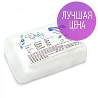Безворсовые салфетки для маникюра 6х10см, 40 г/м2, 100 шт, гладкие/сетка