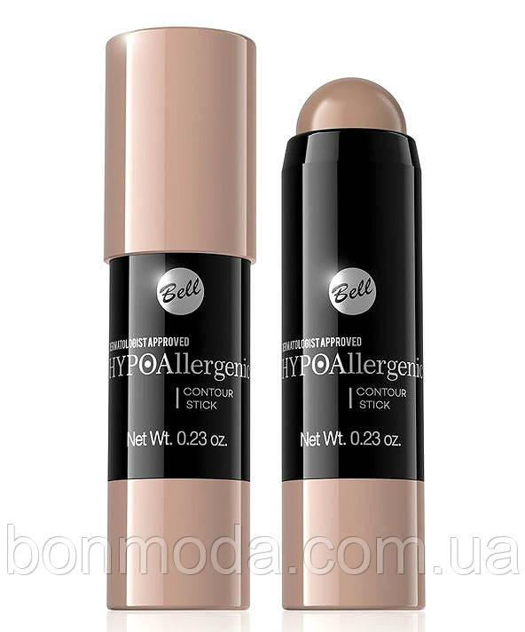 Стик для контуринга HypoAllergenic Bell Cosmetics для контуринга