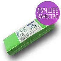 Полоски для депиляции, Panni Mlada 100 шт в упаковке, нетканые-спанбонд, зеленые