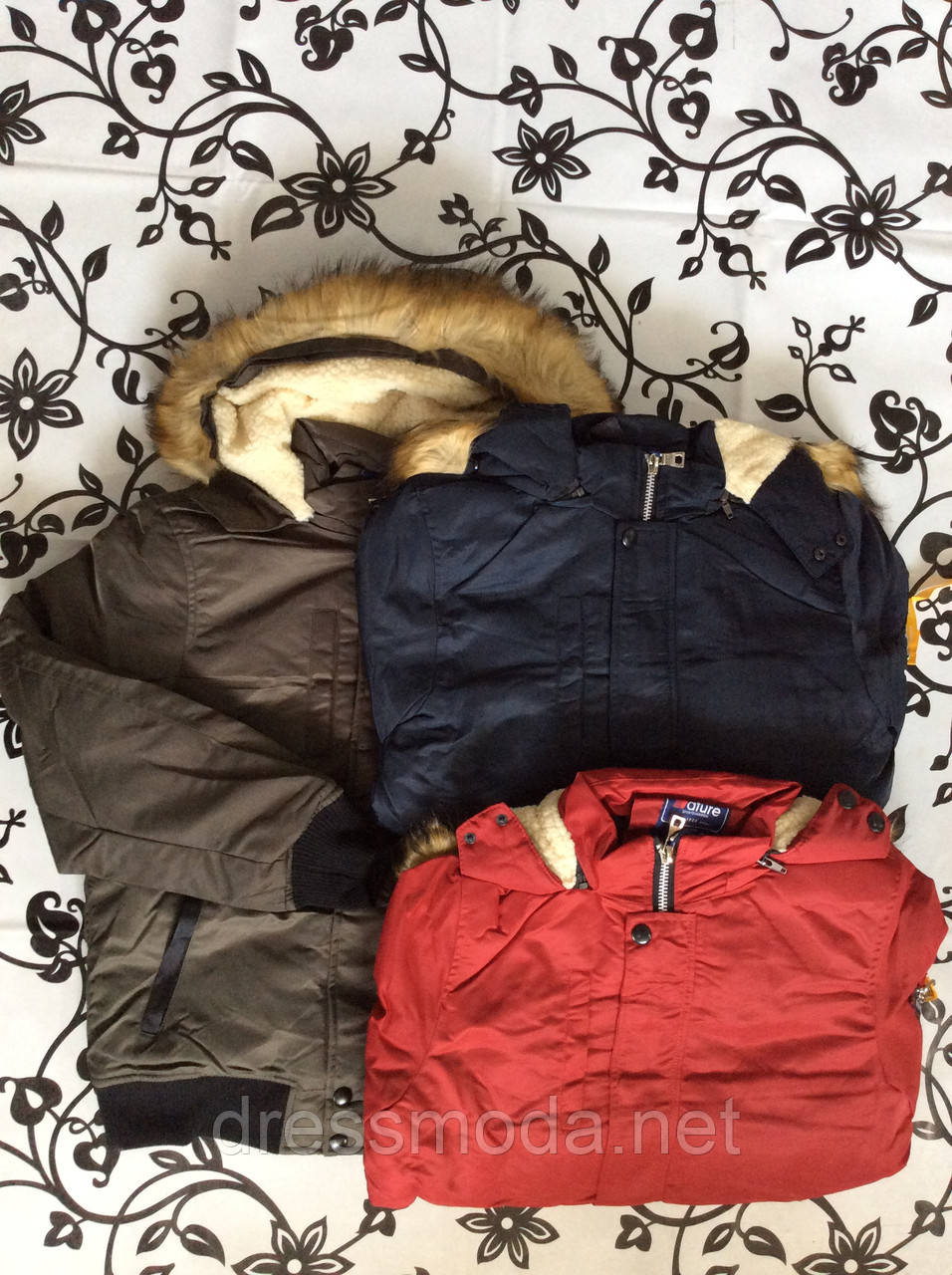 Куртки зимові для хлопчиків Nature 10/11-16/17 років