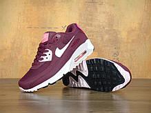 "Кроссовки женские Найк Nike Air Max 90 Essential ""Burgundy"". ТОП Реплика ААА класса., фото 3"