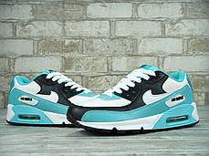 Кроссовки женские Найк Nike Air Max 90 (mint&white). ТОП Реплика ААА класса., фото 2