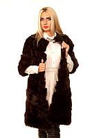 Женская шуба из меха кролика Lira