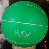 Мяч медицинский (медбол) Zelart SC-8407-6 6кг