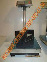 Весы напольные торговые Domotec TCS-A 100кг 300х400мм
