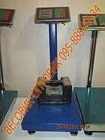 Весы усиленные 2мм сталь Domotec TCS-К-1 100кг 300х400мм (дел. 20 и 50г)