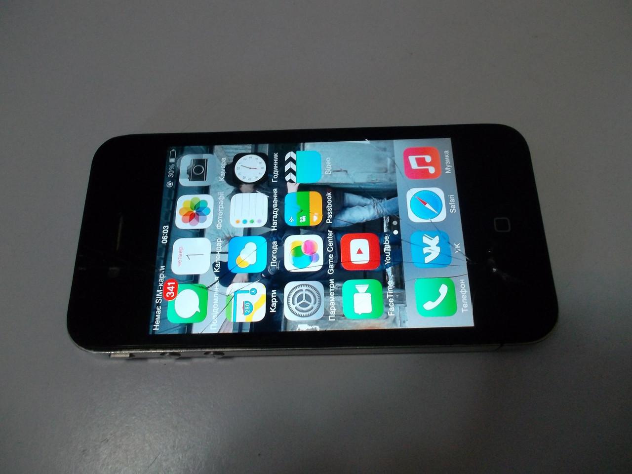 Мобильный телефон Iphone 4 8gb №3549