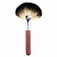 Веерная кисть для скул из козьего ворса Beauties Factory SOFT Goat Hair Fan Brush