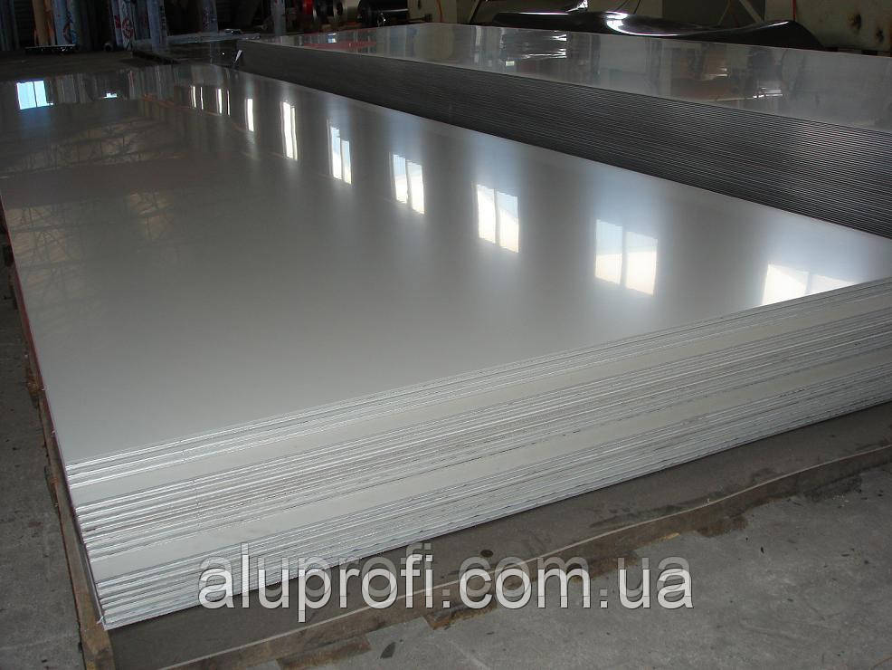 Алюминиевый лист 1,25мм  (1,25х2,5м) 1050 А Н24