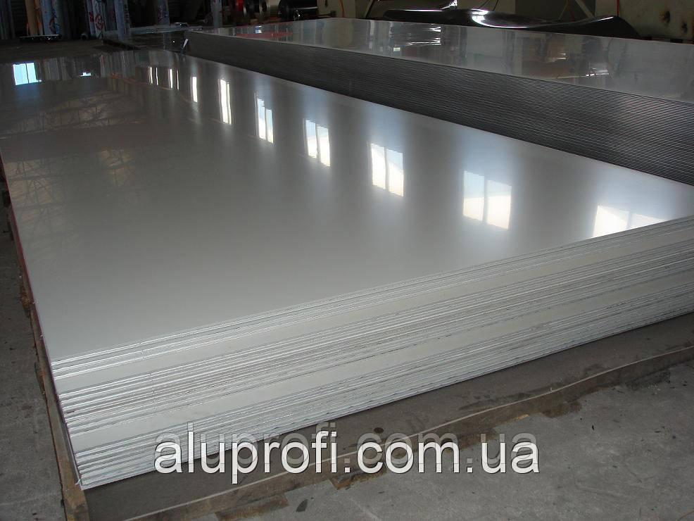 Алюминиевый лист 2.0мм  (1,0х2,0м) 1050 А Н24