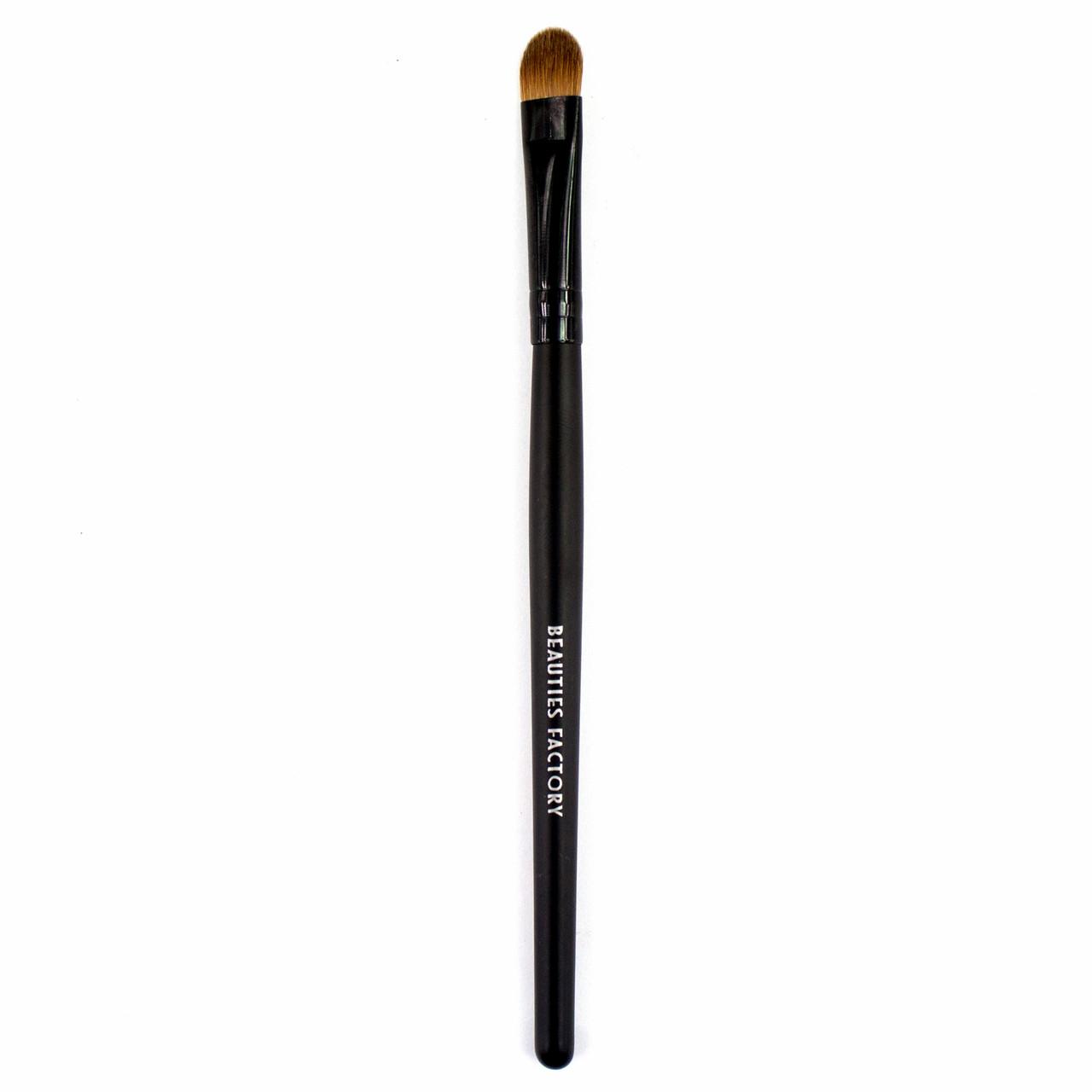 Кисть для теней из волчьего ворса Beauties Factory Medium Round Shadow Brush