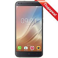 """Смартфон 5.5"""" DOOGEE X30, 2GB+16GB Черный 4 ядра 2.5D изогнутый экран Android 7 камера 8 Мп + селfи в подарок"""