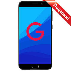 """☞Смартфон 5"""" UMIDIGI G, 2GB+16GB Черный Android 7.0 камера 8 Мп автофокус гнутое стекло 2.5D"""