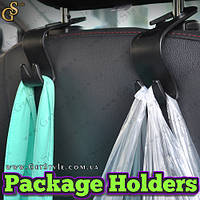 "Держатели для пакетов в автомобиле - ""Package Holders"" - 4 шт."