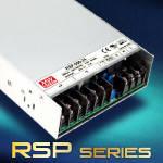 RSP-100 и RSP-500 – новые источники питания с ККМ от Mean Well