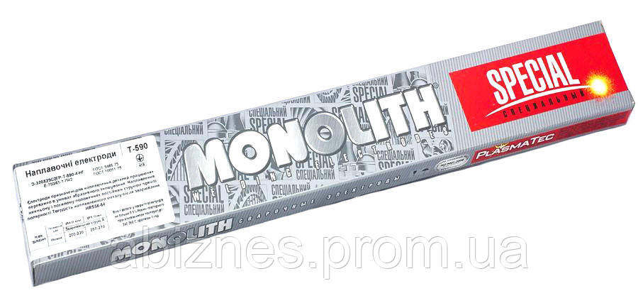 Электроды наплавочные Т-590 Monolith Special