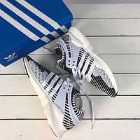 Мужские  кроссовки Adidas EQT Equipment  ADV Zebra primeknit