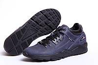Кроссовки Clubshoes мужские кожаные синие 40 41 42 43 44 45