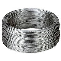 Трос стальной оцинкованный DIN 3052 1х7  1.0 мм