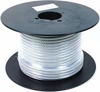 Трос стальной в оплетке 1,5 мм