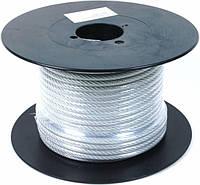 Трос стальной в оплетке 2,5 мм