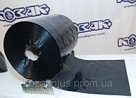 Пленка полиэтиленовая черная рукав. Ширина 250 мм
