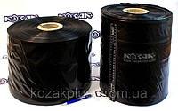 Пленка полиэтиленовая черная рукав. Ширина 330 мм