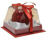 Футляр для ювелирных украшений (роза в коробочке)