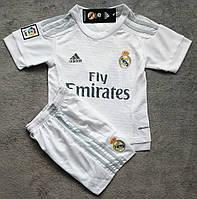 Детская игровая форма Adidas FC Real Madrid 2015-16