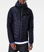 Стильная мужская куртка осень/зима (темно-синяя)