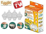 Приспособление формы формочки для варки яиц без скорлупы Eggies (Эггиз) 6шт купить в Украине