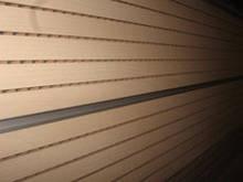 Перфорированная шпонированная панель из MDF Decor Acoustic 30/2 2400*576*17 мм вишня