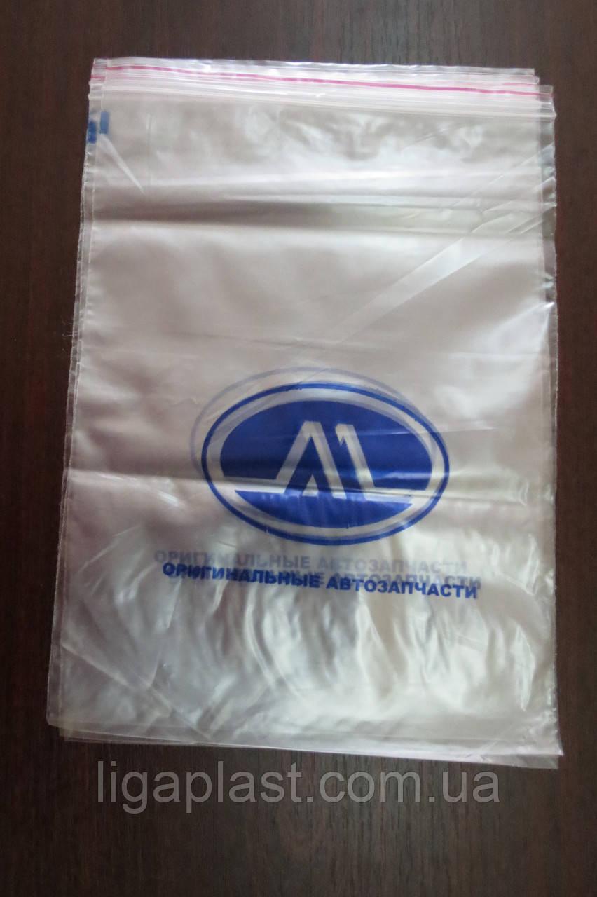 Пакеты ZIP-LOCK с печатью