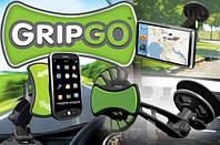 Универсальный автомобильный держатель мультимедийных устройств GripGo купить в Украине