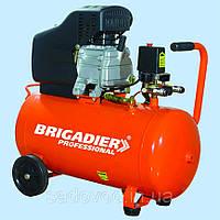 Компрессор масляный Brigadier Professional AC-24P (+ набор для покраски) (188 л/мин)