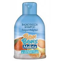 "Мalizia Шампунь - гель Bon Bons ""Mandarino zucchero"", 500 мл"