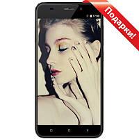"""Смартфон 5.5"""" Gretel S55, 1GB+16GB Черный 4 ядра MediaTek камера GalaxyCore GC8024 8 Мп Android 7"""