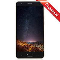 """Смартфон 5"""" DOOGEE X20, 2GB+16GB Золотистый 4 ядра IPS HD экран камера 5 Мп батарея 2580 mAh Android 7"""