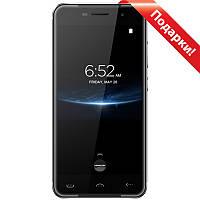 "Смартфон 5"" HOMTOM HT37, 2GB+16GB Серый 4 ядра камера GalaxyCore GC5005 8 Мп Android 6 + селfи в подарок"